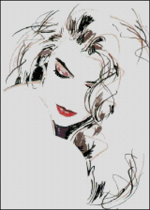 Схема - Портрет-начерк