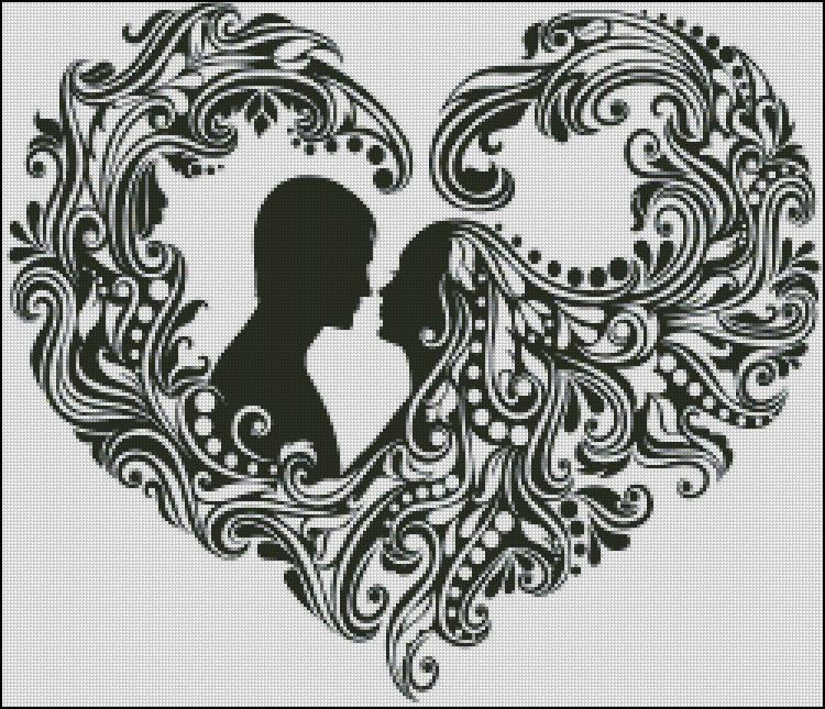 Схема - Серце закоханих