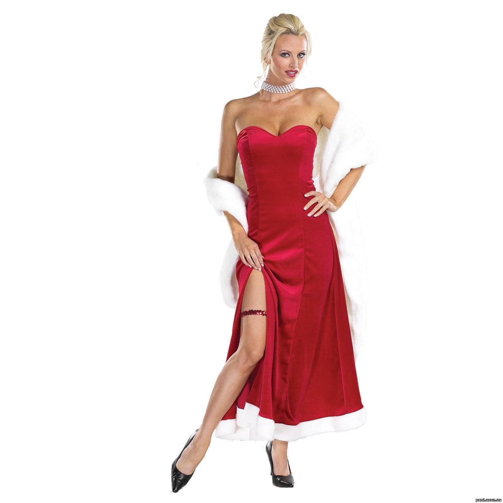 Секс с блондинкой в красном платье 12 фотография