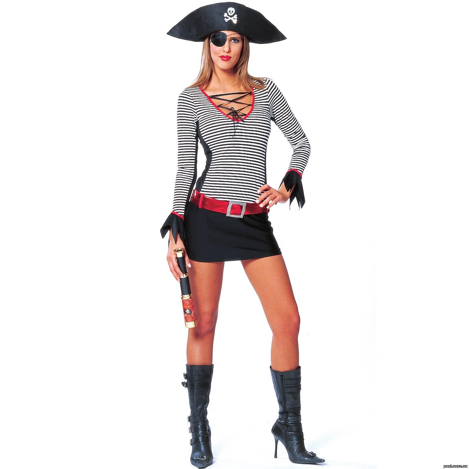 Костюмы для пиратской вечеринки своими руками фото
