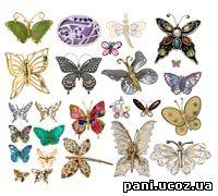 Прикраси метелики 6 03 mb