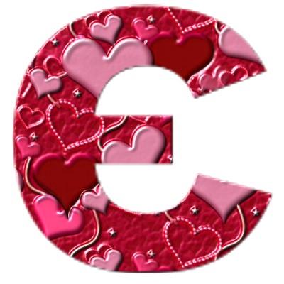 Український алфавіт з сердечками