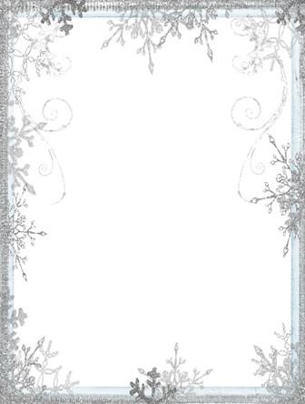 шаблон для фото Сніжинки