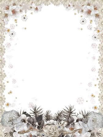 шаблон для фото Снігурка