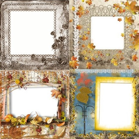 Осінні рамки для фото