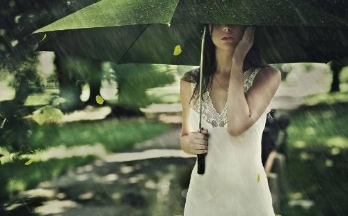 Літній дощ заставка на рабочий стол